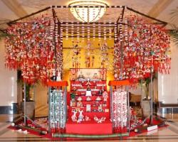 名古屋マリオットアソシアホテルの吊るし雛